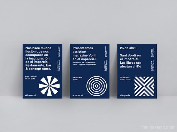 马德里 El imparcial 餐厅VI设计 西班牙 画册设计 海报设计 标识设计 店面设计 名片设计 专卖店设计 VI设计