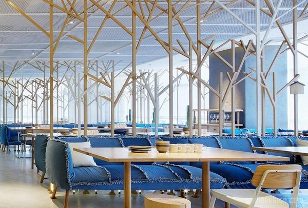 北京雁舍湘味餐厅设计 餐厅设计 店面设计 商业空间设计 北京 中国