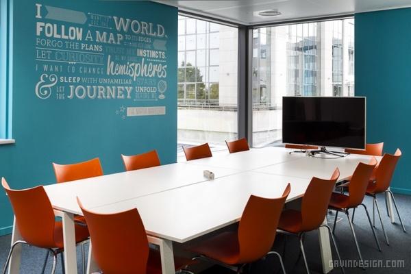 比利时 Nest 办公室设计 办公空间设计 办公室设计