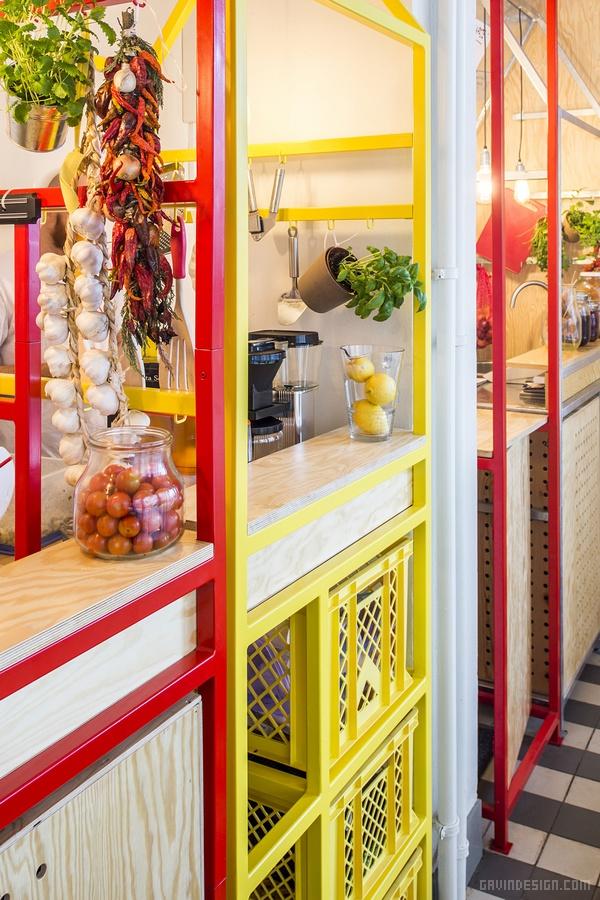 波兰华沙 Serwus 快餐店设计 餐厅设计 快餐店设计 商业空间设计