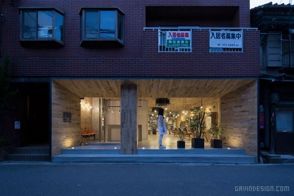 日本大阪 Mook 美容美发沙龙设计 美发沙龙设计 理发店设计 日本 店面设计 商业空间设计