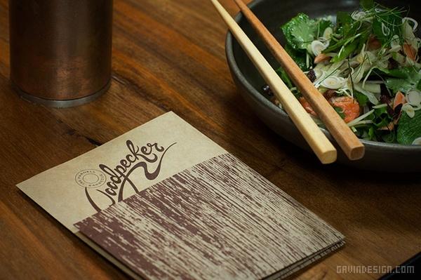 Woodpecker 烧烤餐厅VI设计 餐厅设计 店面设计 商业空间设计 名片设计 包装设计 VI设计 SI设计