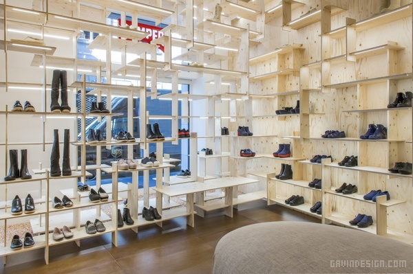 意大利米兰 Camper 鞋店设计 鞋店设计 意大利 店面设计 商业空间设计 专卖店设计