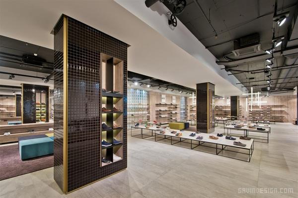 立陶宛 Shoe Gallery 鞋店设计 鞋店设计 店面设计 商业空间设计 专卖店设计