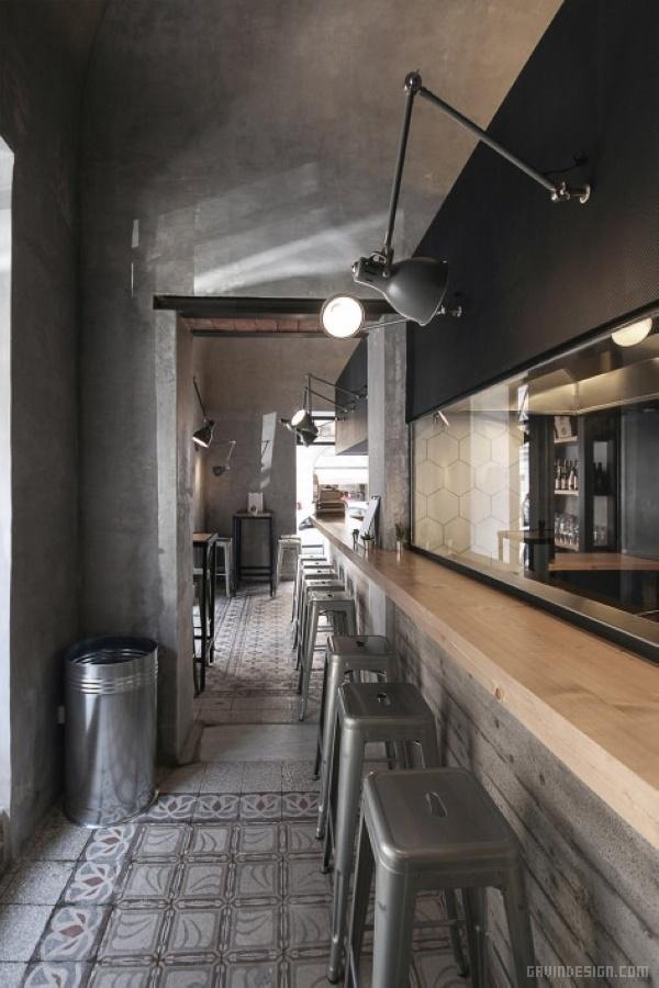 意大利巴勒莫 Ai Giudici 酒吧设计 餐厅设计 酒吧设计 意大利 商业空间设计