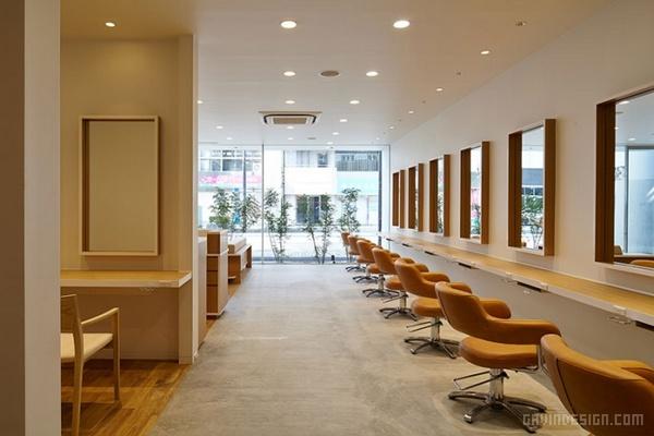 日本千叶县 Hairdo 美容美发沙龙设计 美发沙龙设计 理发店设计 日本 商业空间设计