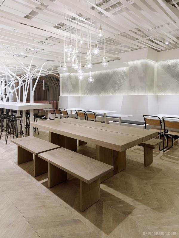 瑞士苏黎世 Not Guilty 连锁餐厅设计 餐厅设计 店面设计 商业空间设计