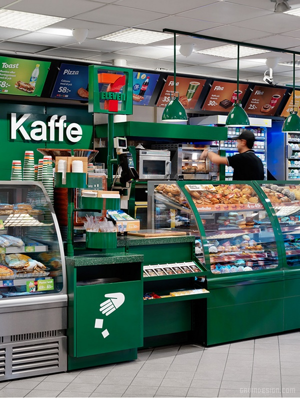 日本零售业巨头 7 11 Kaffe VI设计 超市设计 日本 VI设计 SI设计