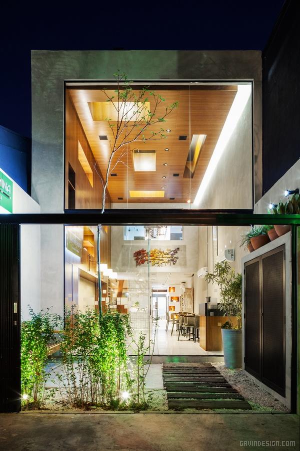 巴西圣保罗 Guilhermina 餐厅设计 餐厅设计 店面设计 巴西 商业空间设计