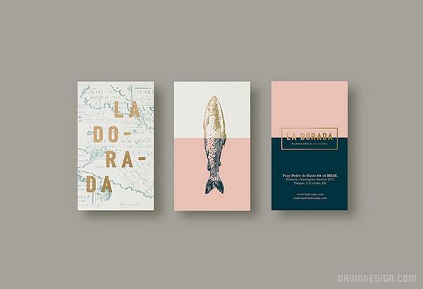 墨西哥 La Dorada 海鲜餐厅VI设计 菜单设计 网站设计 画册设计 墨西哥 VI设计