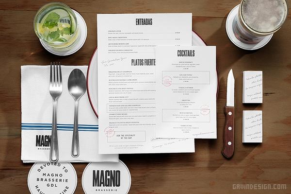 墨西哥 Magno 酒店VI设计 海报设计 法国 墨西哥 图标设计 名片设计 包装设计 专卖店设计 VI设计 SI设计