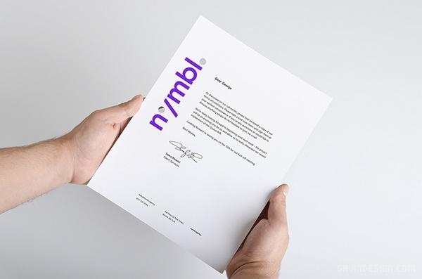 Nymbl 动画工作室VI设计 网站设计 海报设计 标志设计 VI设计 APP设计