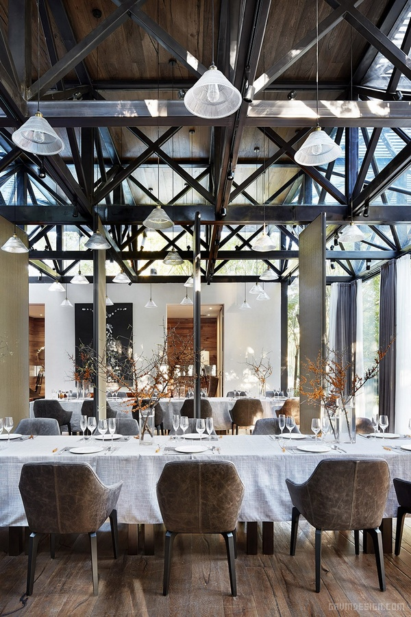 北京丽都花园罗兰湖会所设计 餐厅设计 商业空间设计 北京 会所设计 中国