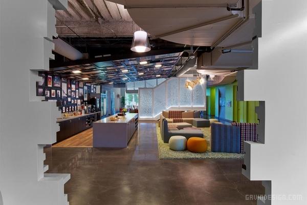 Google 加利福尼亚州 Irvine 办公室设计 美国 办公空间设计 办公室设计