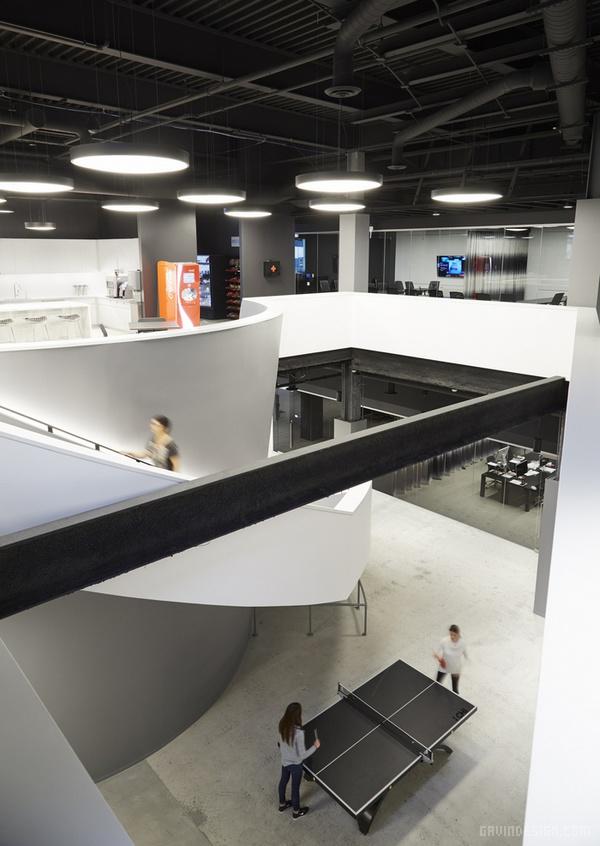 Havas Worldwide 芝加哥办公室设计 美国 办公空间设计 办公室设计