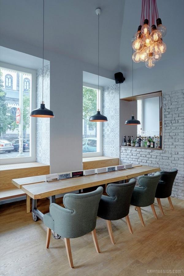 捷克布拉格 Nejen 小酒馆设计 餐厅设计 酒吧设计 商业空间设计