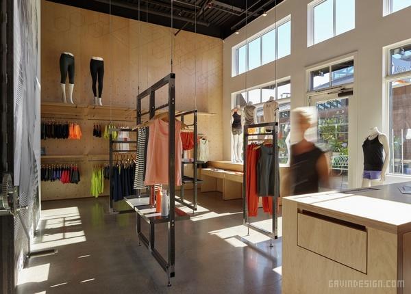 Oiselle 西雅图旗舰店设计 美国 旗舰店设计 店面设计