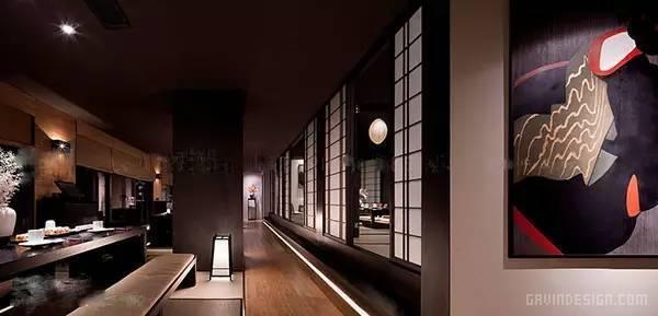 重庆天地日本秋叶料理店设计 餐厅设计 料理店设计 店面设计 商业空间设计 中国