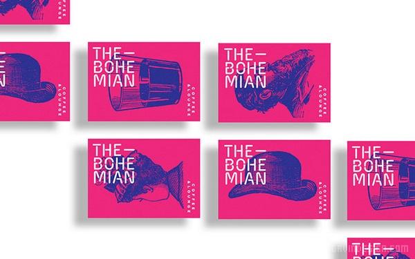 西班牙波希米亚餐厅VI设计 西班牙 菜单设计 网站设计 名片设计 VI设计 APP设计