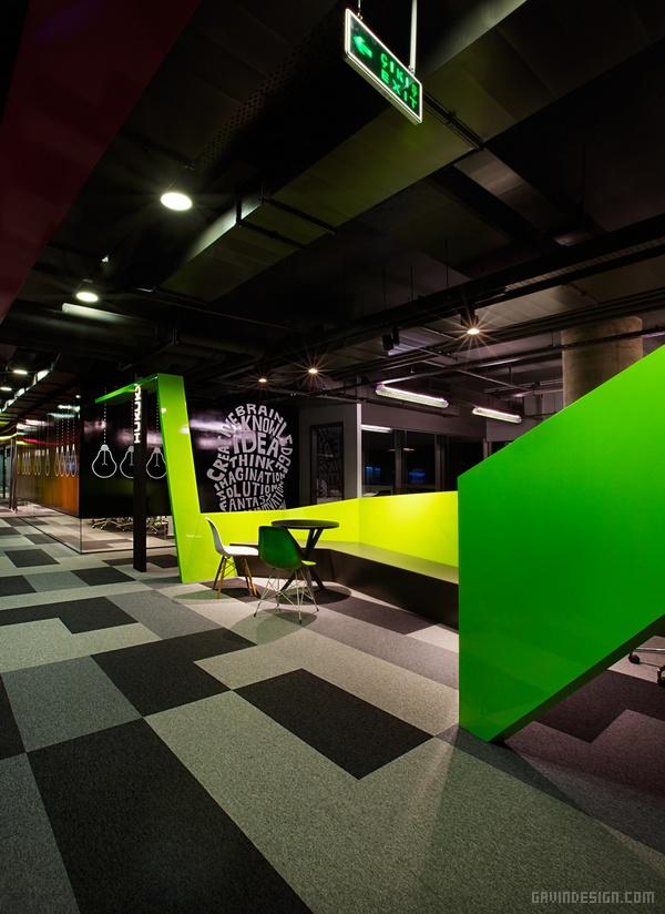 土耳其伊斯坦布尔 Markafoni.com 公司总部设计 土耳其 办公空间设计 办公室设计