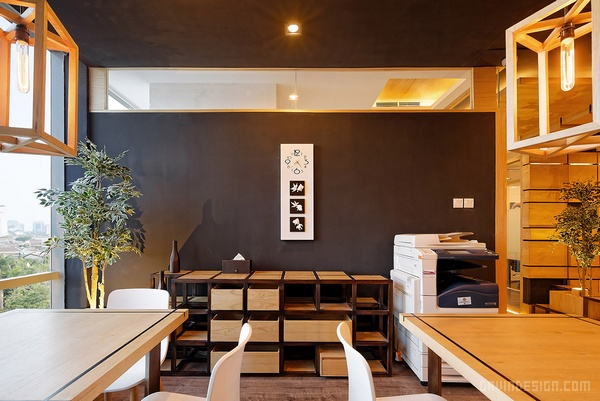 印度尼西亚雅加达 Prikarsa 办公室设计 办公室设计