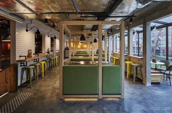 法国巴黎 Generator 青年旅舍设计 青年旅舍设计 酒店设计 法国