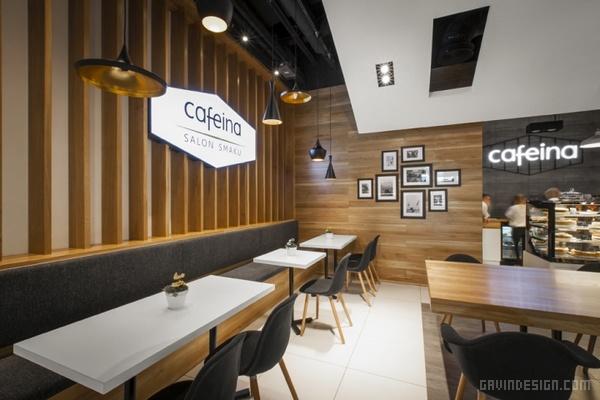 波兰 Cafeina 咖啡馆设计 餐厅设计 商业空间设计 咖啡馆设计