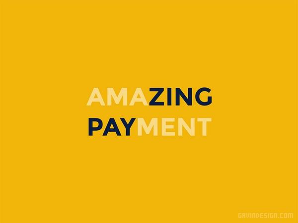 Payzing 支付企业VI设计 画册设计 标志设计 名片设计 VI设计 APP设计