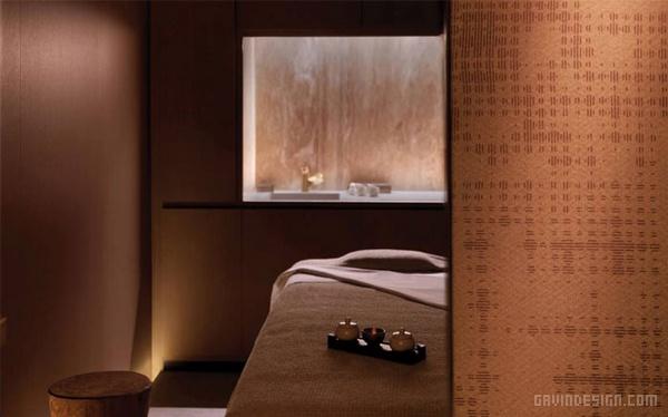 意大利米兰四季酒店SPA水疗中心设计 洗浴中心设计 水疗中心设计 意大利