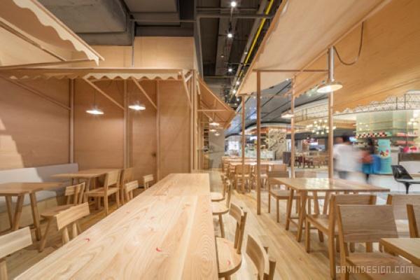 泰国曼谷 EAT 餐厅设计 餐厅设计 店面设计 商业空间设计