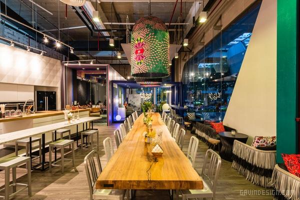 泰国曼谷 Pop up 咖啡厅设计 餐厅设计 店面设计 商业空间设计 咖啡厅设计