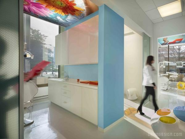 美国弗吉尼亚 Smile Designer 牙科诊所设计 诊所设计 美国 牙所设计