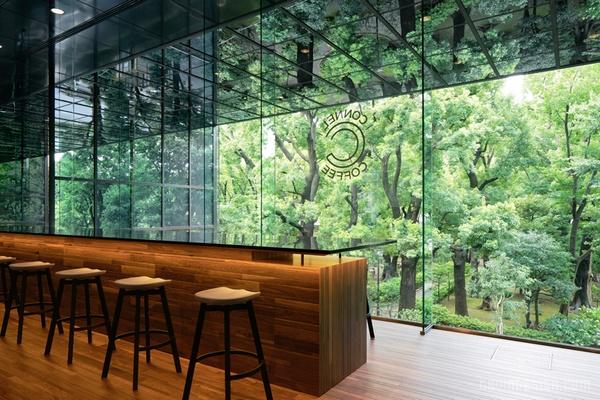 日本东京 connel 咖啡厅设计 餐厅设计 日本 店面设计 商业空间设计 咖啡厅设计 东京