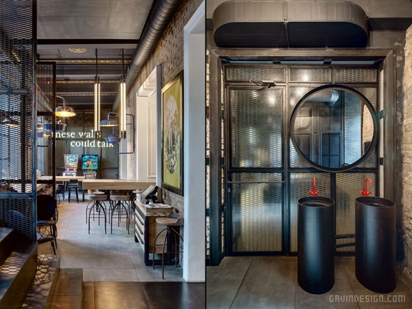 乌克兰基辅Dogs&Tails酒吧咖啡厅设计 餐厅设计 店面设计 商业空间设计 咖啡厅设计
