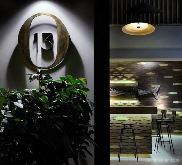 希腊萨洛尼O13咖啡厅设计 餐厅设计 店面设计 商业空间设计 咖啡厅设计