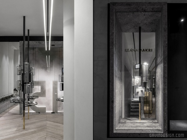 希腊雅典 leana Makri 珠宝店设计 珠宝店设计 店面设计 希腊 商业空间设计 专卖店设计
