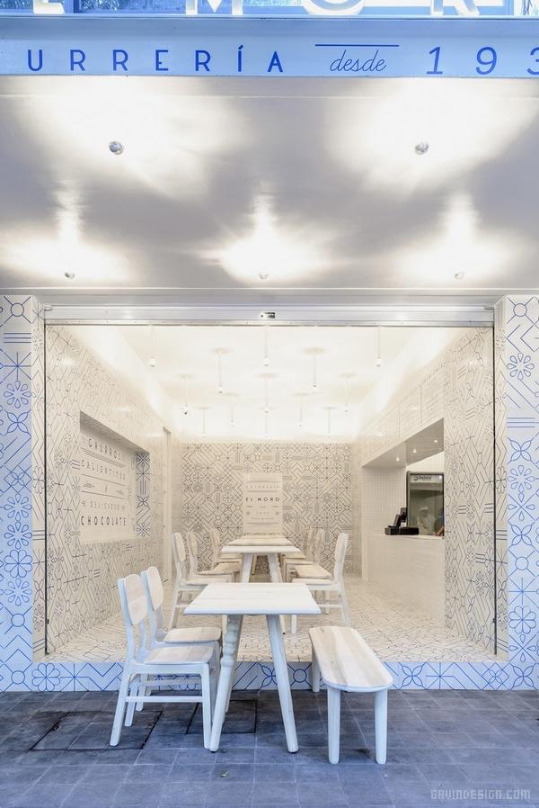 墨西哥首都墨西哥城 El MORO 餐厅设计 餐厅设计 店面设计 墨西哥 商业空间设计