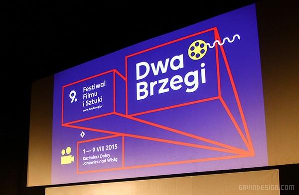 波兰 Dwa 电影艺术节VI设计 海报设计 标志设计 VI设计