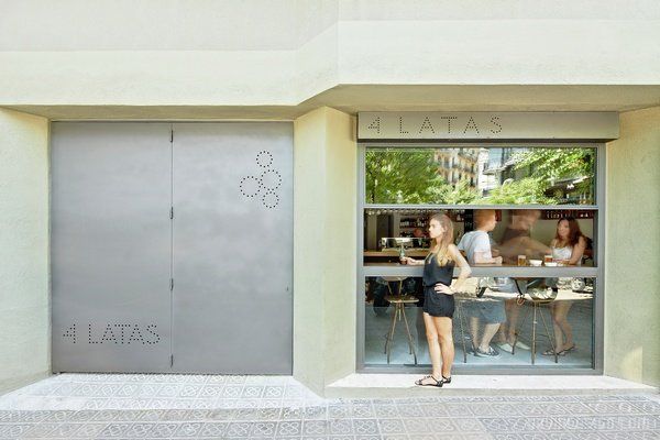 西班牙巴塞罗那 4 Latas 酒吧设计 酒吧设计 店面设计 商业空间设计