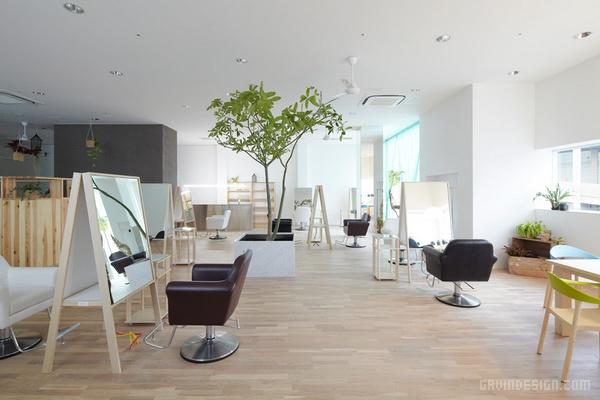 日本大阪 Lecinq 美发沙龙设计 美发沙龙设计 理发店设计 日本 商业空间设计