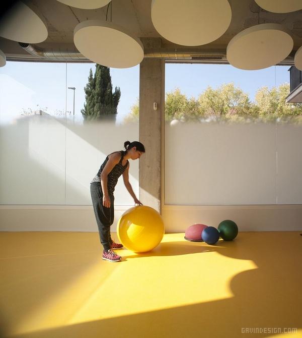巴塞罗那 R3 活动疗养中心设计 西班牙 疗养中心设计
