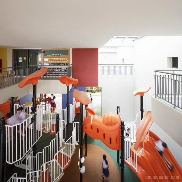 泰国 Charoenpong 幼儿园设计 泰国 幼儿园设计