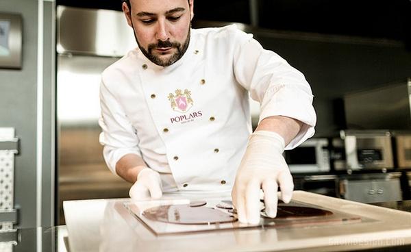 法国 Poplars 巧克力公司VI设计 画册设计 法国 标志设计 名片设计 VI设计