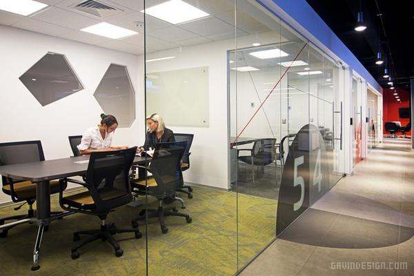Security Sat 圣地亚哥办公室设计 办公空间设计 办公室设计