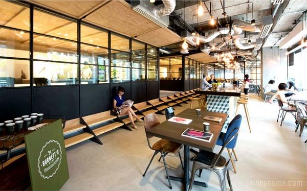 李奥贝纳香港总部办公室设计 办公空间设计 办公室设计
