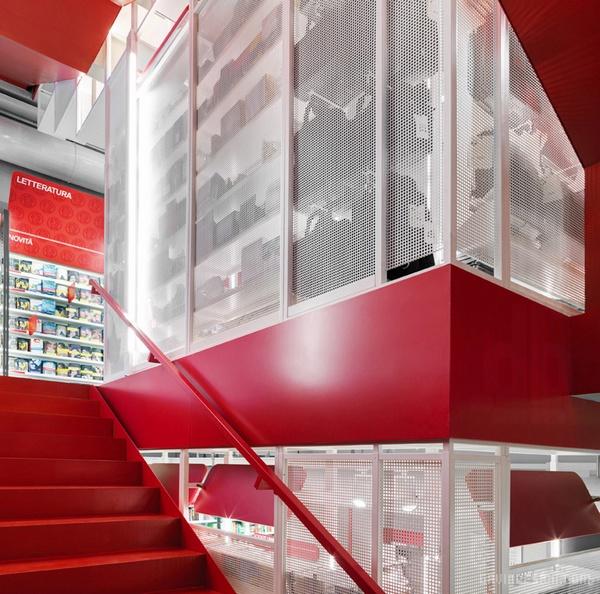 蒙达多里集团米兰超级卖场设计 超市设计 意大利 店面设计 商业空间设计 卖场设计
