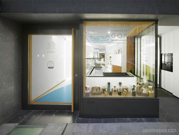 卢森堡 Pandemos Agora 精品店设计 精品店设计 店面设计 商业空间设计 化妆品店设计 专卖店设计