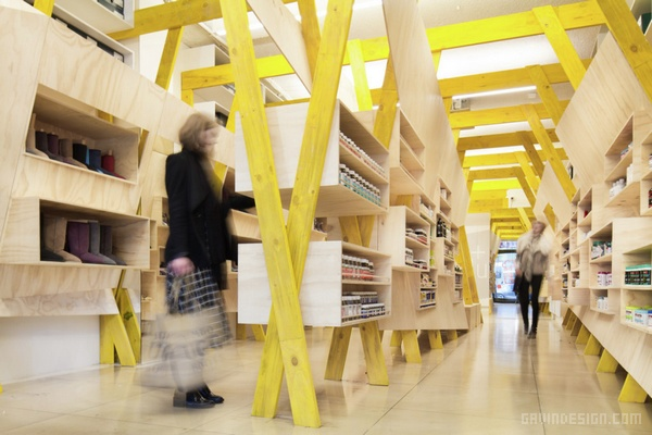 澳大利亚墨尔本 Hugg 鞋店设计 鞋店设计 澳大利亚 店面设计 商业空间设计 专卖店设计