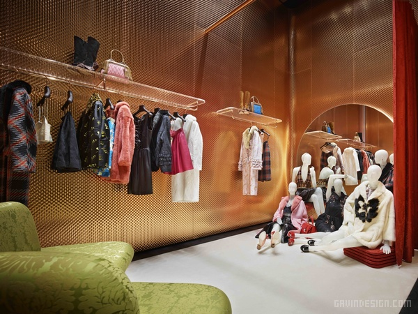 日本东京青山 Miu Miu 店面设计 日本 店面设计 商业空间设计 专卖店设计