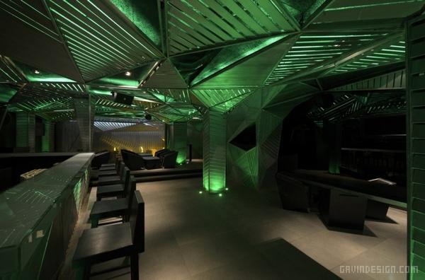 印度孟买 Auriga 主题餐厅设计 餐厅设计 店面设计 商业空间设计 印度